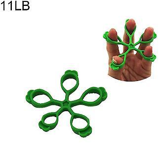 Dispositivo di allenamento con impugnatura con impugnatura in silicone per la forza del palmo e l'allenamento del polso (verde militare)