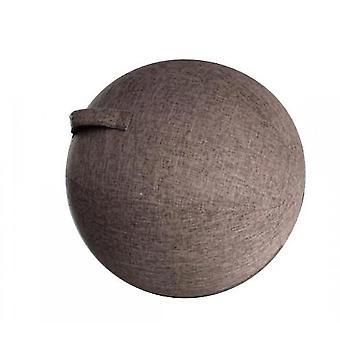 """כיסוי כדור יוגה 60 ס""""מ פילאטיס כיסא כדור ישיבה מגן עמיד לאבק"""