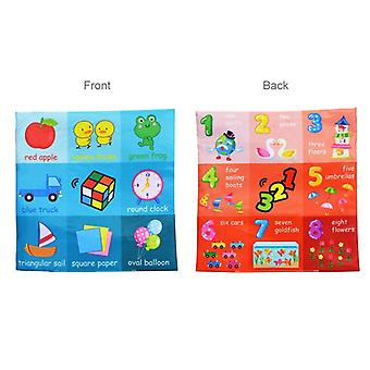 Soft Cloth Newborn Book, Children's Toys For 0-12 Months, Educational Learning, Cognitive Learning Objects, -05