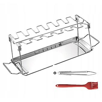 Folding Stainless Steel Barbecue Rack For Bbq