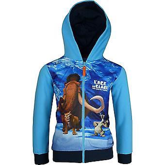 """Ice Age """"Alter De Glace 5"""" jungen Full Zip Kapuzen-Sweatshirt PH1406"""
