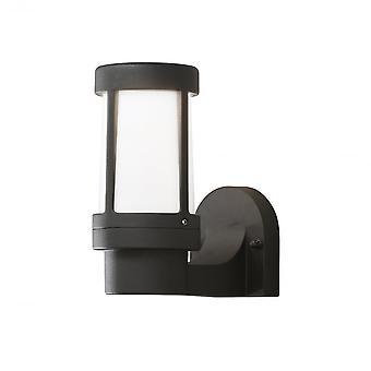 Konstsmide Siena svart yttervegg lys