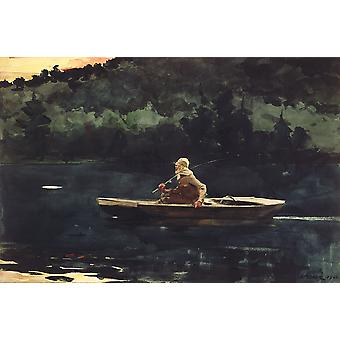 Winslow Homer - The Rise Poster Print Giclee