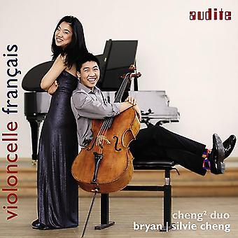 Cheng Duo - Violoncelle Francais: Debussy / Faure / Franck / Saint-Saens [CD] USA import