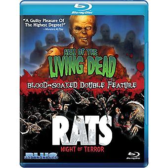 Hell of the Living Dead / Rats Night of Terror [BLU-RAY] USA import