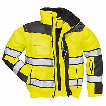 Portwest - HI-Vis bezpieczeństwa odzieży roboczej Klasyczna kurtka pilotka