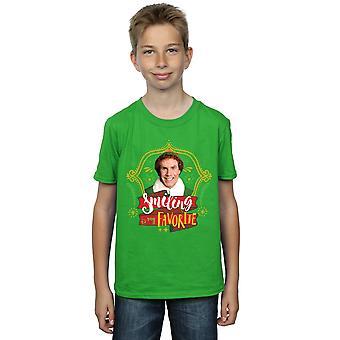 Elf garçons mon pote souriant T-Shirt
