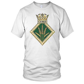 Royal Navy HMS Ceres Ladies T Shirt