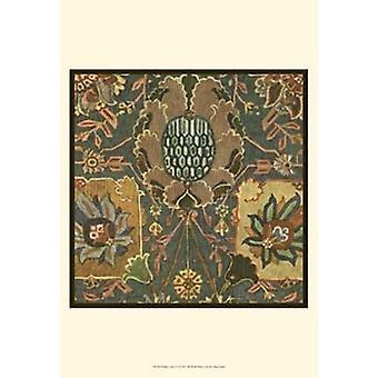 Perzisch tapijt IV Poster Print (13 x 19)