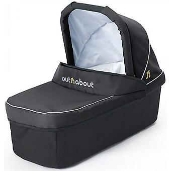 Out 'n' About Nipper Double Carrycot Raven Black