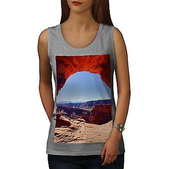 Grand Canyon Photo femmes GreyTank Top | Wellcoda