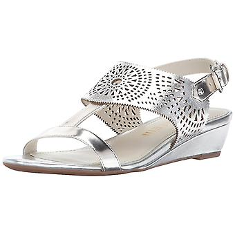 Anne Klein Womens Maddie Open Toe Casual Slingback Sandals