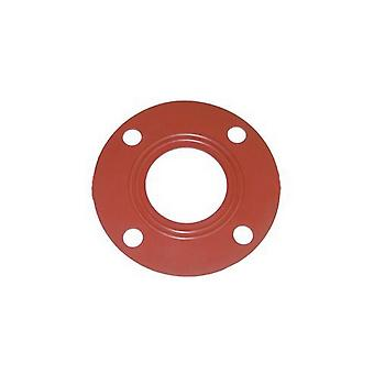 "American Granby GSK6R 6"" Red Rubber Butterfly Gasket"