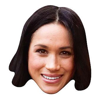Meghan Markle 2D Single Royal Card Party Fancy Dress Mask