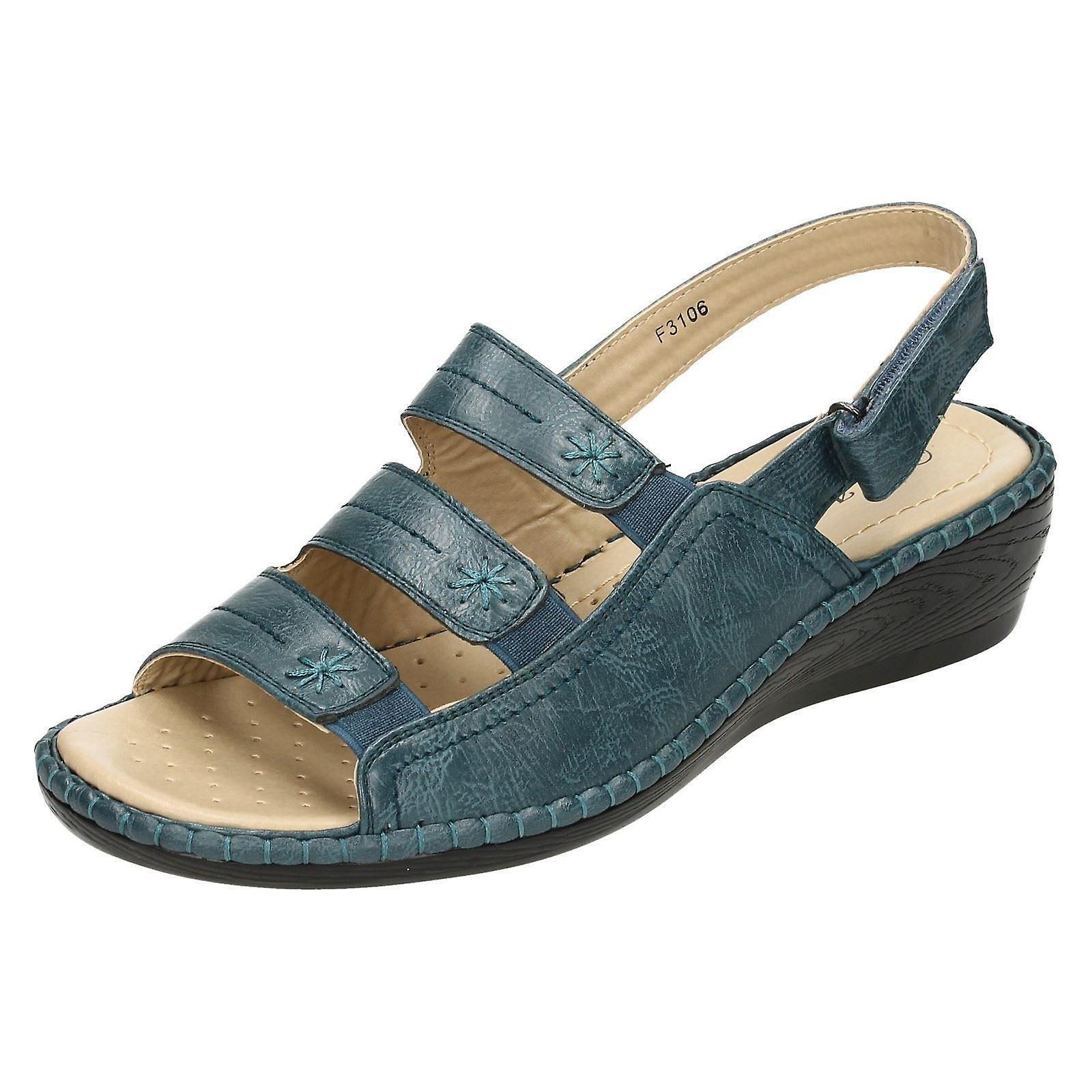 Damskie sandały klin Eaze Comfort Ul0yi