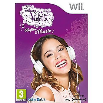 Violetta Rytme og musik (Nintendo Wii) - Som ny