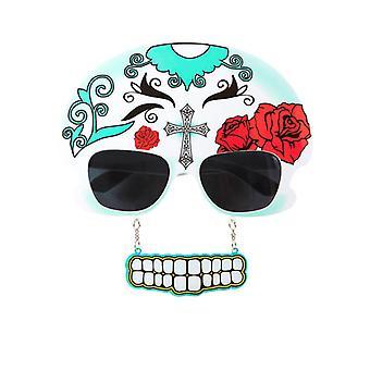 Gafas Mujer Dia De Los Meurtos W/dientes