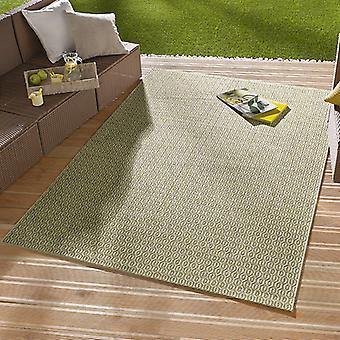 En - & Outdoorteppich pièce vert | 102473