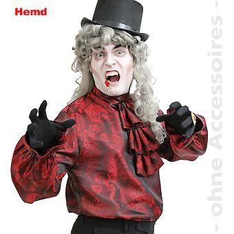 Vampir costum barbati camasa Ruffle cămașă Jabot aventurier barbati costum