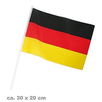 Flag fan 20x30cm Tyskland fodbold part
