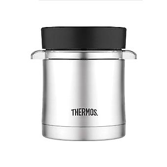 Thermos 355mL S/Steel Vacuum Insulated Sleeve w/Microwavable Food Jr