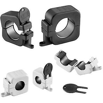 Würth Elektronik STAR-anello Ferrite 7427154 perlina cubo chiave protetta 130 Ω cavo Ø (max.) 16 mm (Ø) 43 mm 1/PC