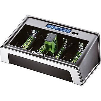 Varta LCD Universal NiMH AAA , AA , C, D, 9V PP3 Ladegerät für zylindrische Zellen