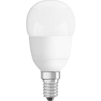 OSRAM LED (monocromo) EEC A+ (A++ - E) E14 Droplet 6 W a 40 W Blanco cálido (x L) 45 mm x 89 mm regulable 1 ud(s)