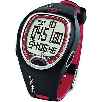 سيغما SC 6.12 الرقمية ساعة توقيت الأسود، الأحمر