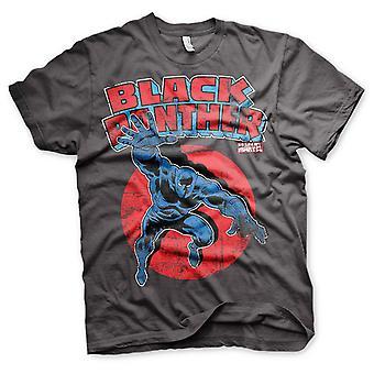 Musta pantteri Marvel t-paita logo