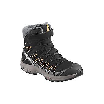サロモン XA プロ 3 D 半ば冬 TS CS WP J 406511 ユニバーサル冬子供靴