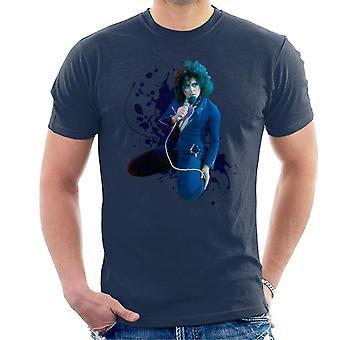 TV keer Marc Bolan op supersonische Live T Rex T-Shirt voor mannen