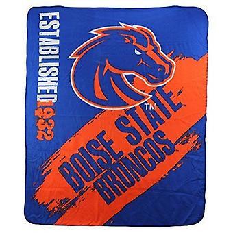 Boise State Broncos NCAA Northwest Fleece Throw