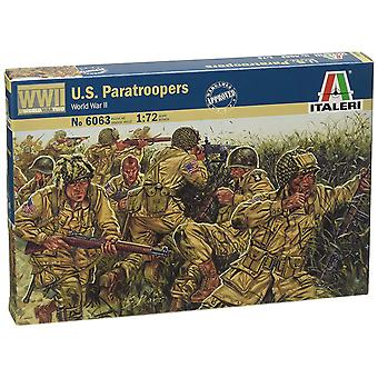 Italeri WW2 1:72 U.S. parachutisten