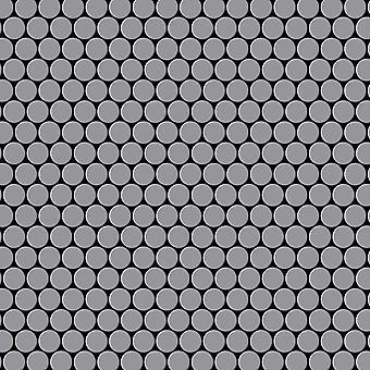Nerezová mozaika z nerezové oceli Penny-S-S-MA