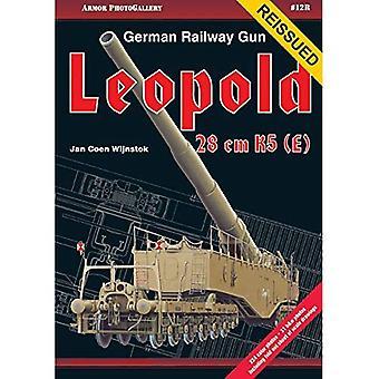 Armor PhotoGallery #12R Duitse spoorwegen Gun 28 cm K5(E) Leopold (heruitgave)