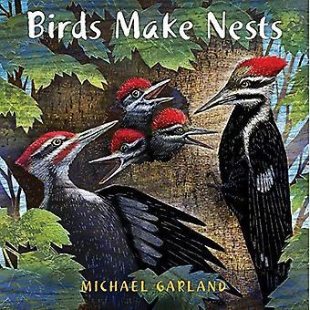 Les oiseaux font des nids