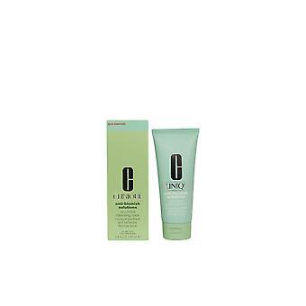 Clinique anti-blemish Solutions contrôle nettoyage de masque d'huile 100 Ml pour femme