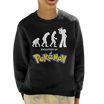 Evolution de Sweatshirt de Pokemon Kid