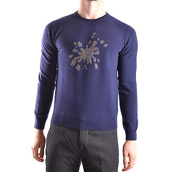 Altea Ezbc048033 Men's Blue Wool Sweater
