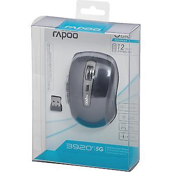 Rapoo 3920 Laser Maus 5 GHz schwarz