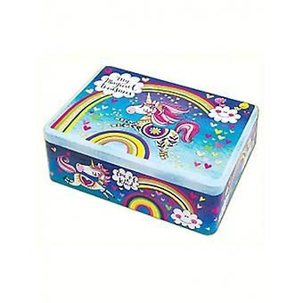 Unicorn Girls Storage Tin - Rachel Ellen