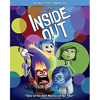 Inside Out [Blu-ray] USA import