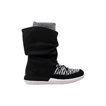 Nike Roshe Two Hi Flyknit W Black/Black-White 861708-002 Women's