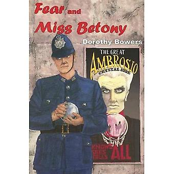 Fear and Miss Betony (Rue Morgue Vintage Mystery)