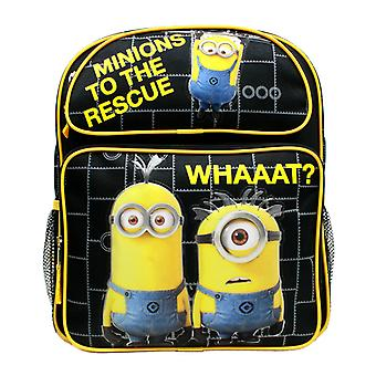 Rucsac mediu Despicable Me Minions To The Rescue Black 14