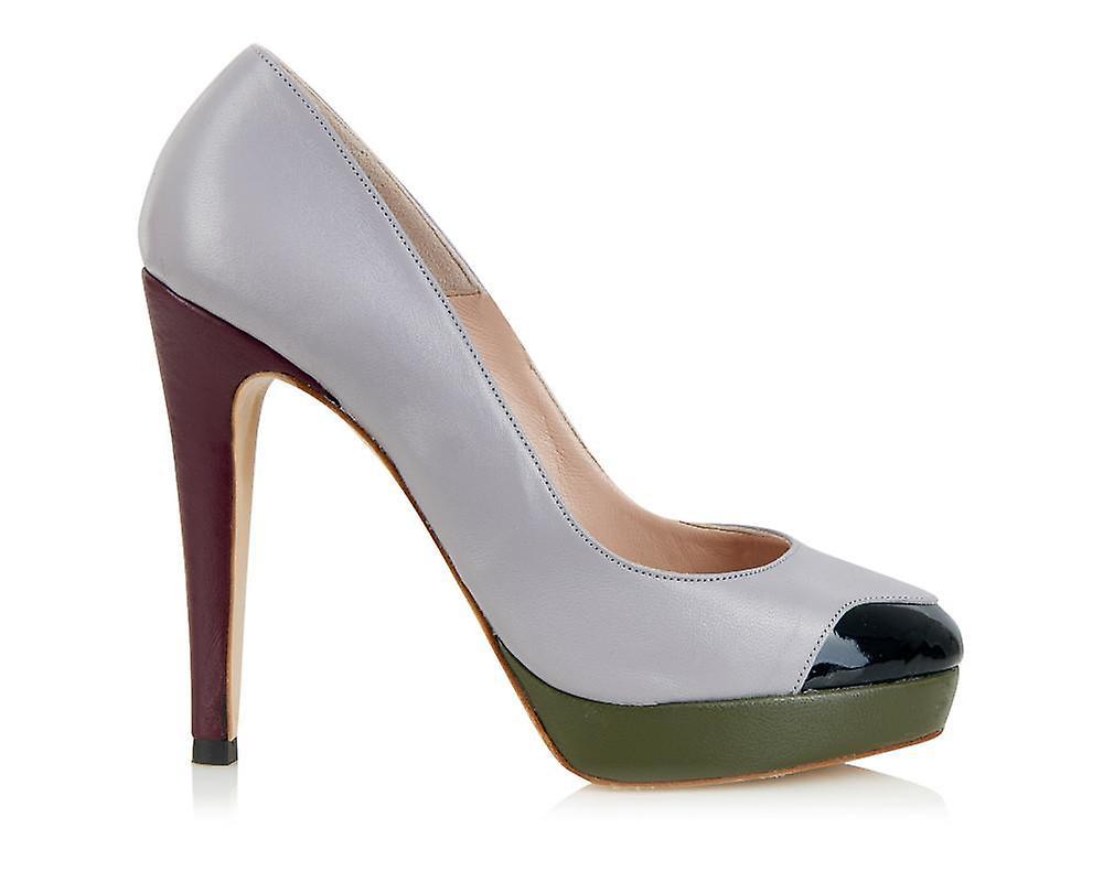 Mayfair platform grey shoes