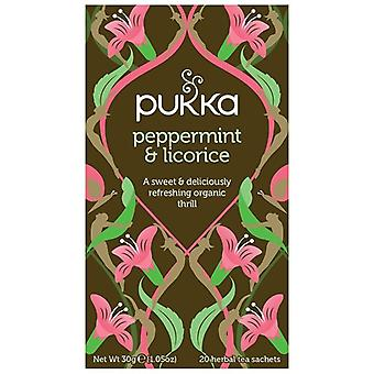 Pukka Peppermint & Licorice Tea Bags 80