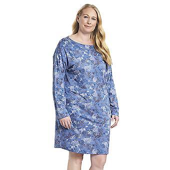 Rösch 1194525-11999 Ženy's Křivka Smokey Blue Nightdress