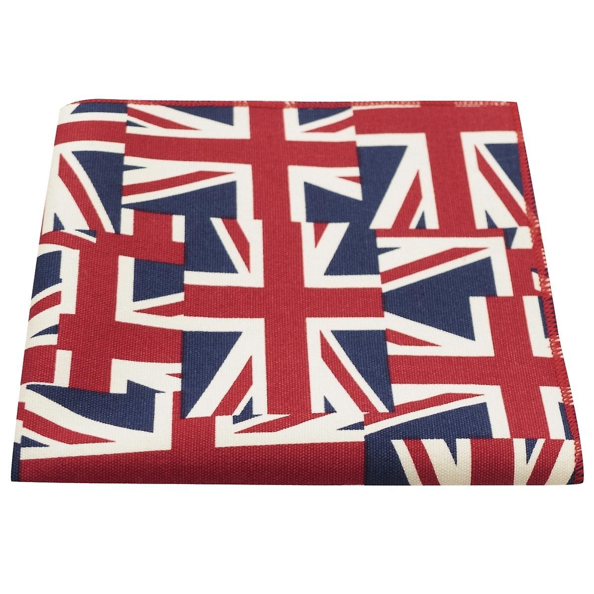 Union Jack Pocket Square, Mens Handkerchieft, Great Britain Hanky